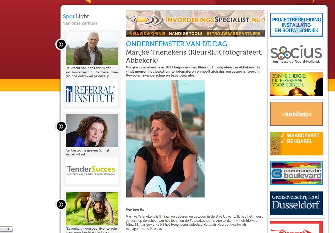 Wij Noord-Holland | Onderneemster van de Dag