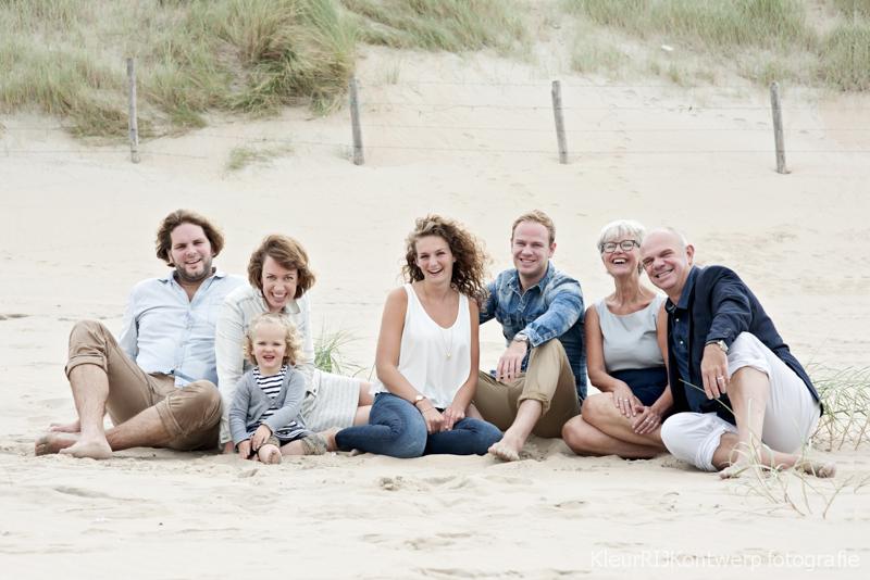 Familie fotoshoot | Strand van Bloemendaal