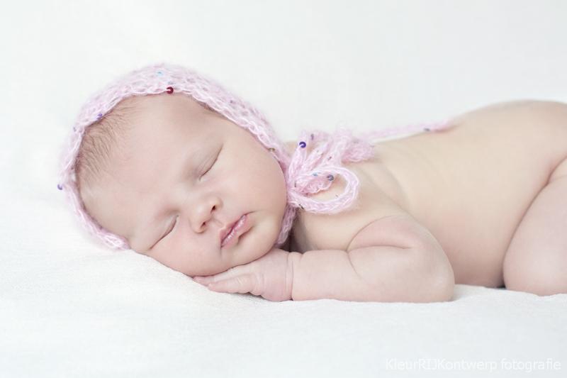 Newborn fotoshoot Noord-Holland | Baby Fiene