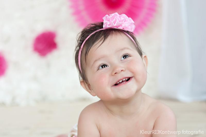 Cake Smash fotoshoot | Baby Esmee 1 jaar