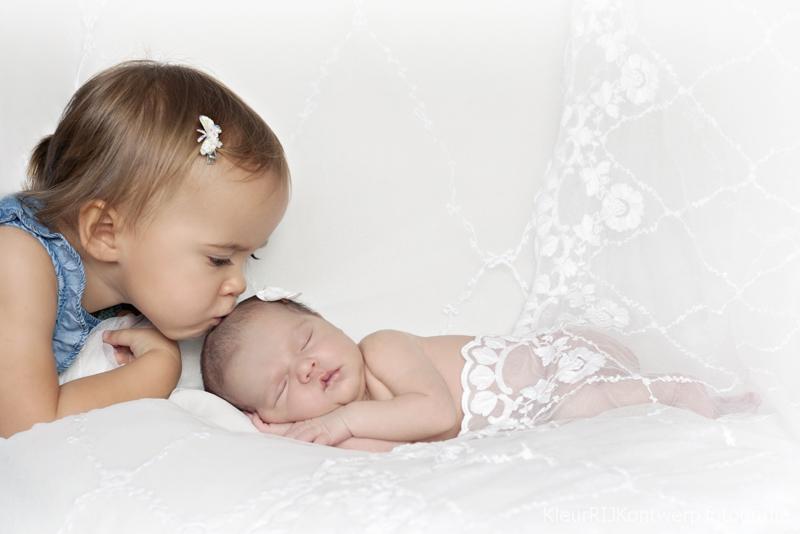 zwanger en newborn shoot
