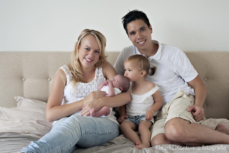 zwanger en newborn fotoshoot