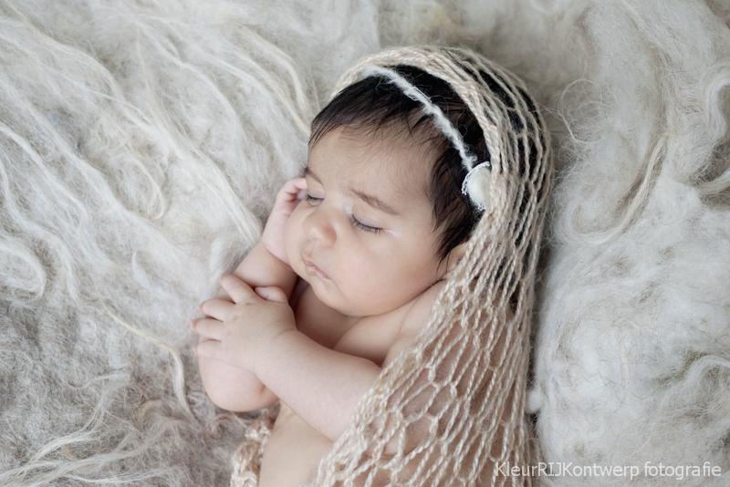 baby fotoshoot in de studio