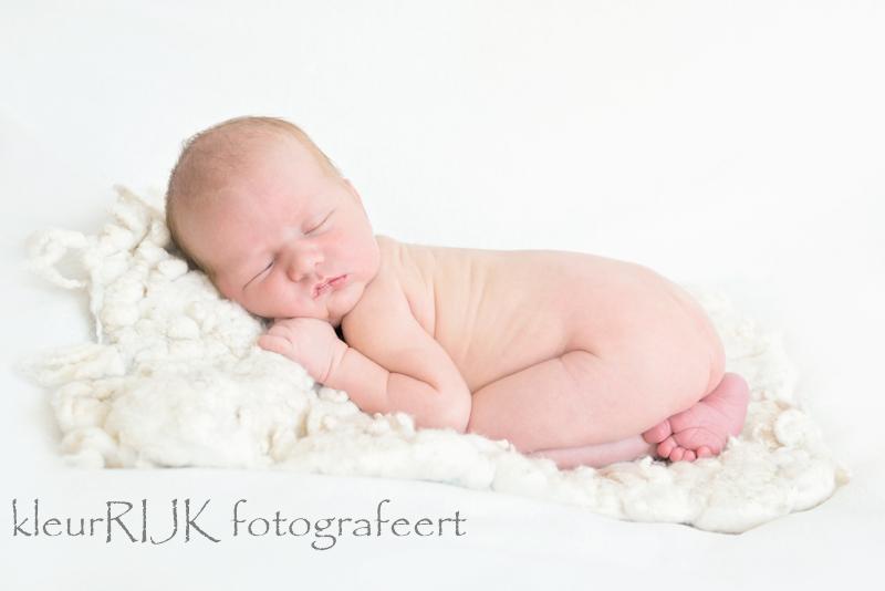 Newborn shoot baby