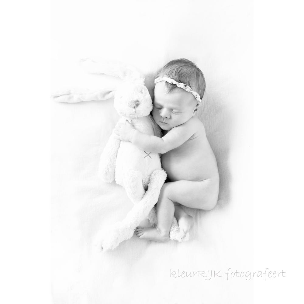 combi shoot zwanger en newborn