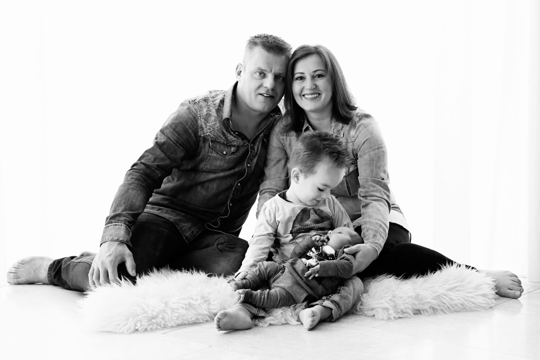 Newbornshoot aan huis | Zwaag | Baby Lars is geboren