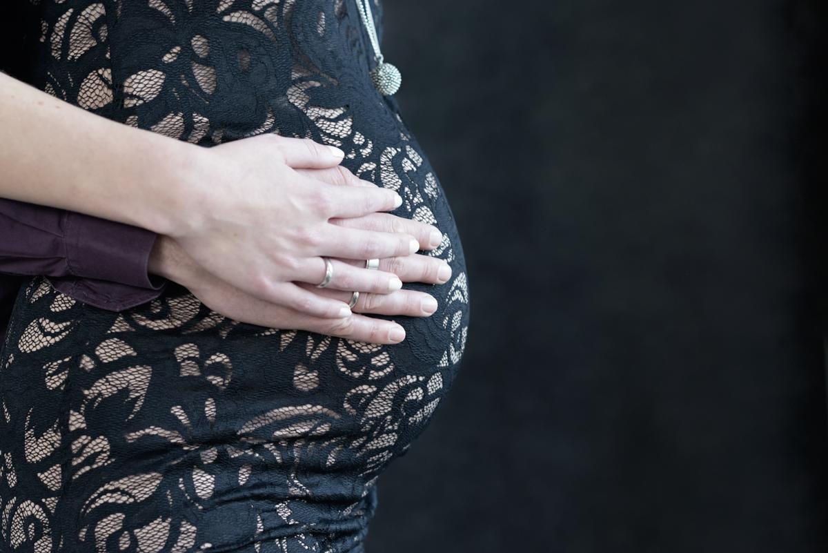 unieke zwangerschapsfoto