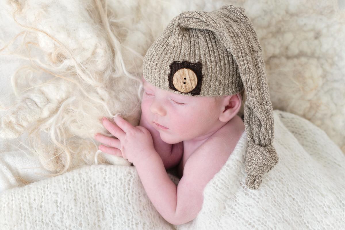 newborn fotoshoot aan huis