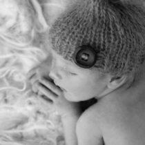 Newborn fotoshoot aan huis | Lief jongetje baby Xavian
