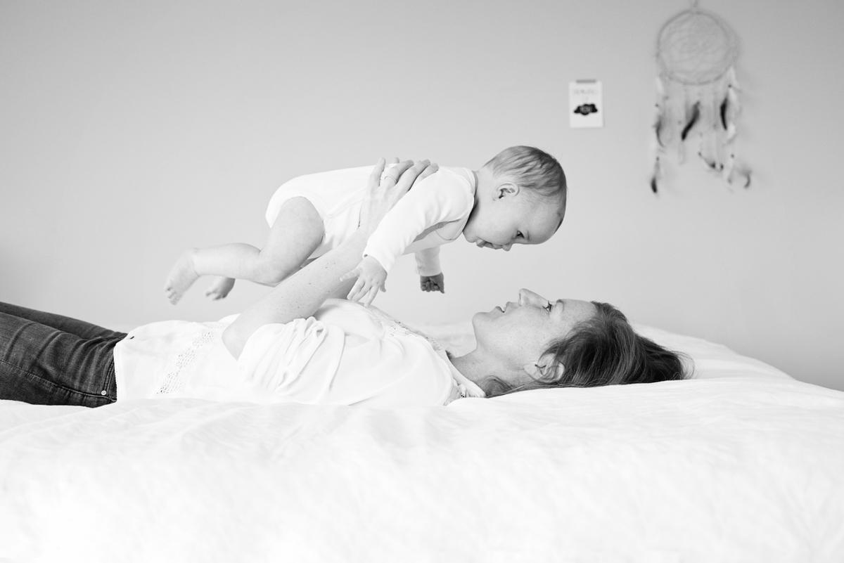 Lifestyle Baby Fotoshoot in Eigen Huis