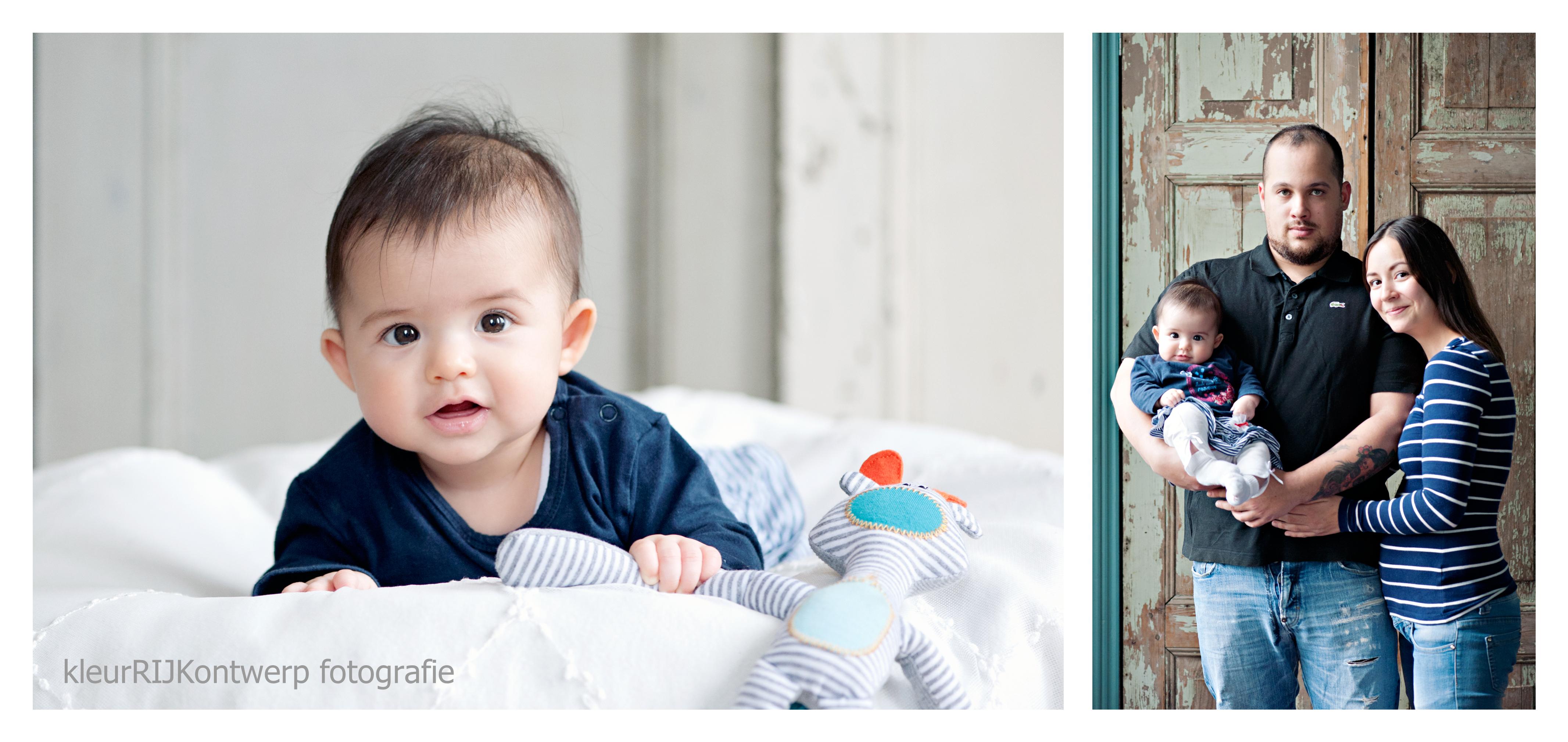 babyfotografie in de studio