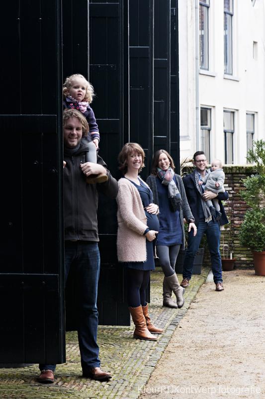 Vriendinnenshoot Sarah, Femke, Minne & Aafke