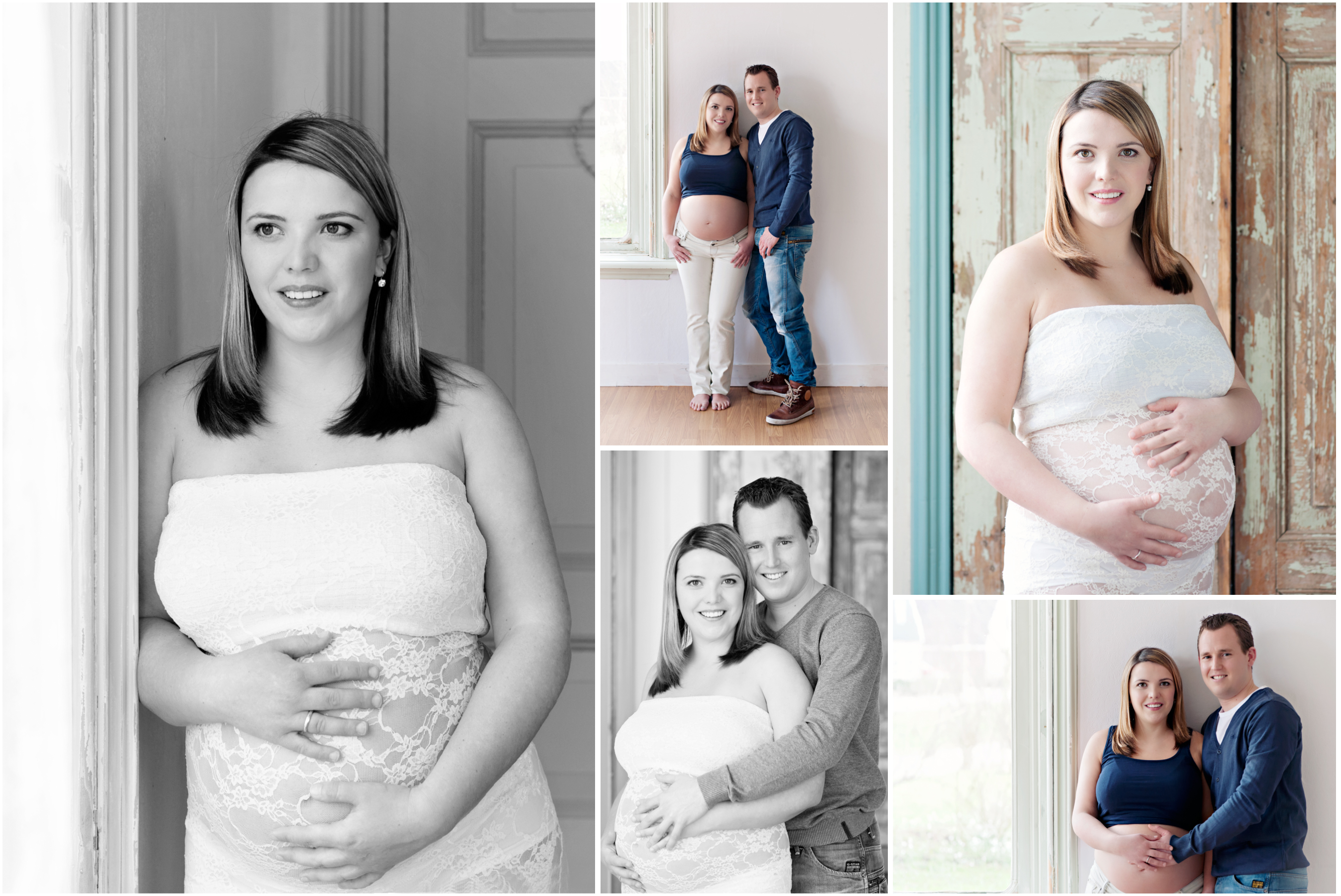 zwangerschapsreportage studio