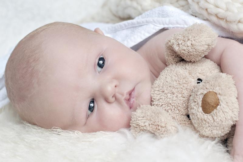 Newborn fotografie baby Kjeld