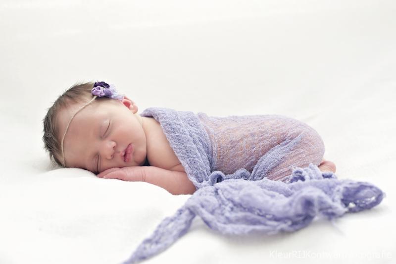 Newbornfotografie baby Vera