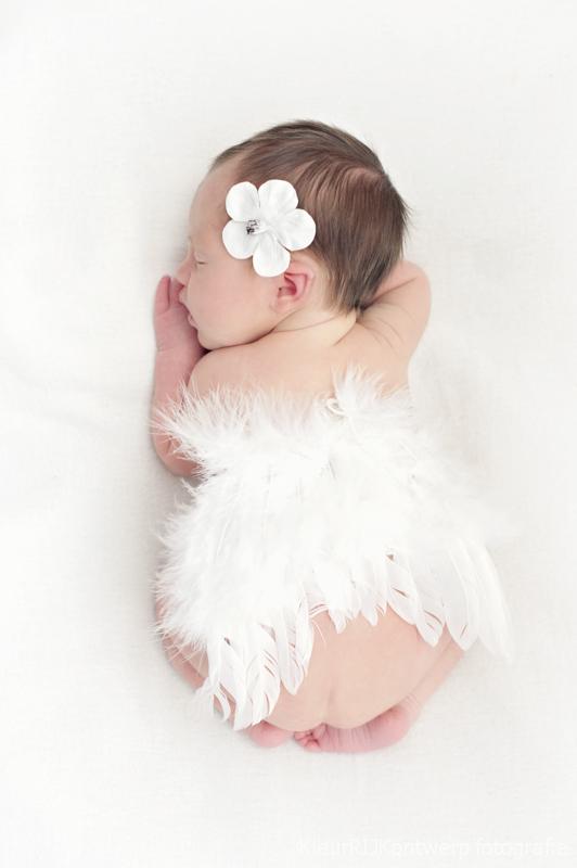 Newborn fotografie baby Vera
