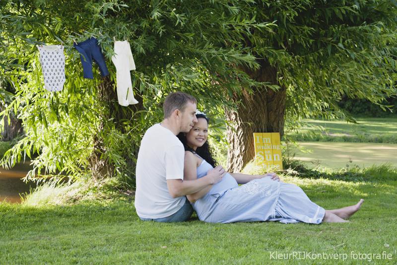 Zwangerschap fotografie buiten