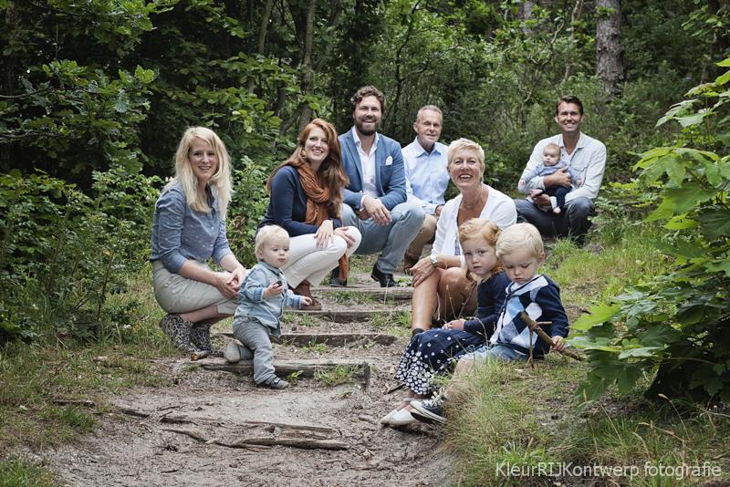 Familieshoot strand