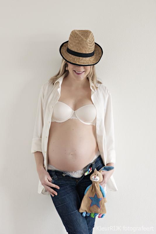 Combi Zwanger & Newborn fotoshoot
