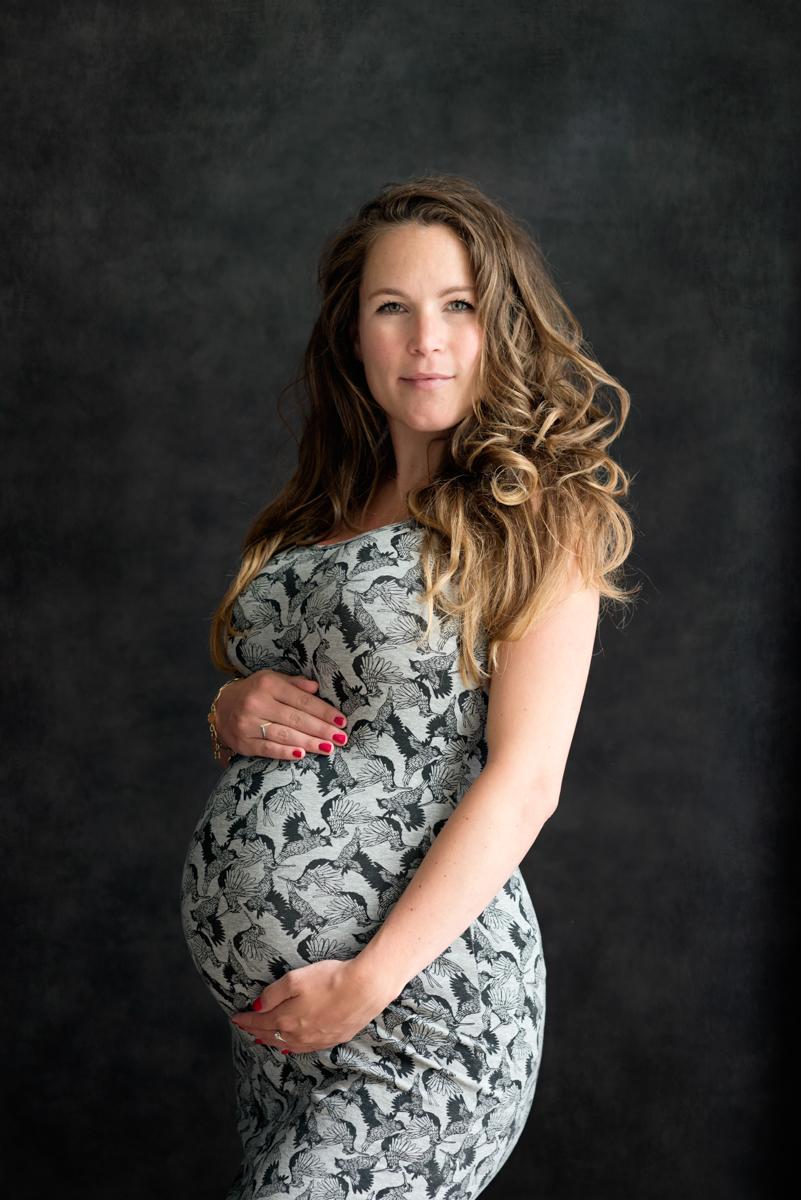Magisch zwangerschapsshoot jurk