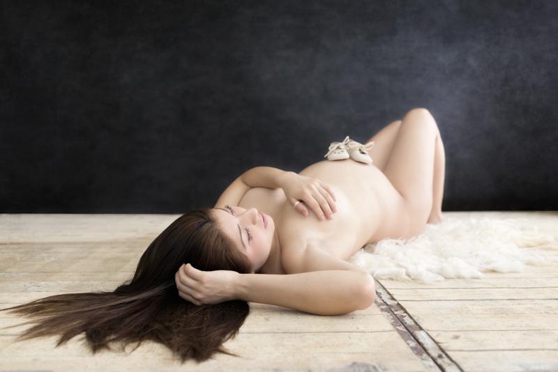 prachtige zwangerschapsfotoshoot