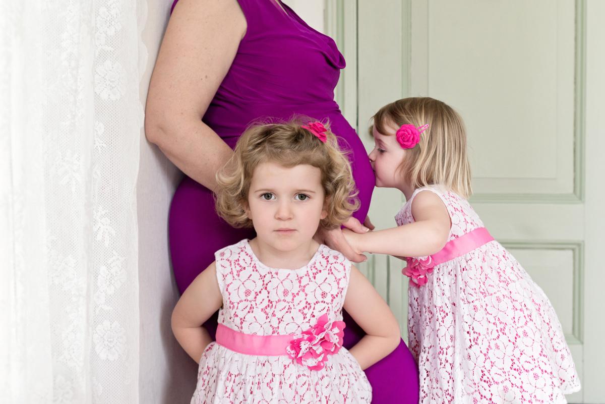 Zwanger Fotoshoot baby 3 komt er aan
