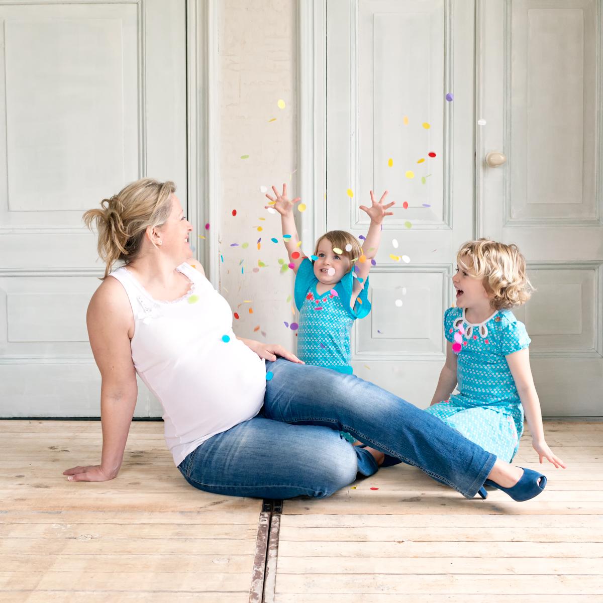 Zwangerschapsfotografie, in verwachting van je derde kindje
