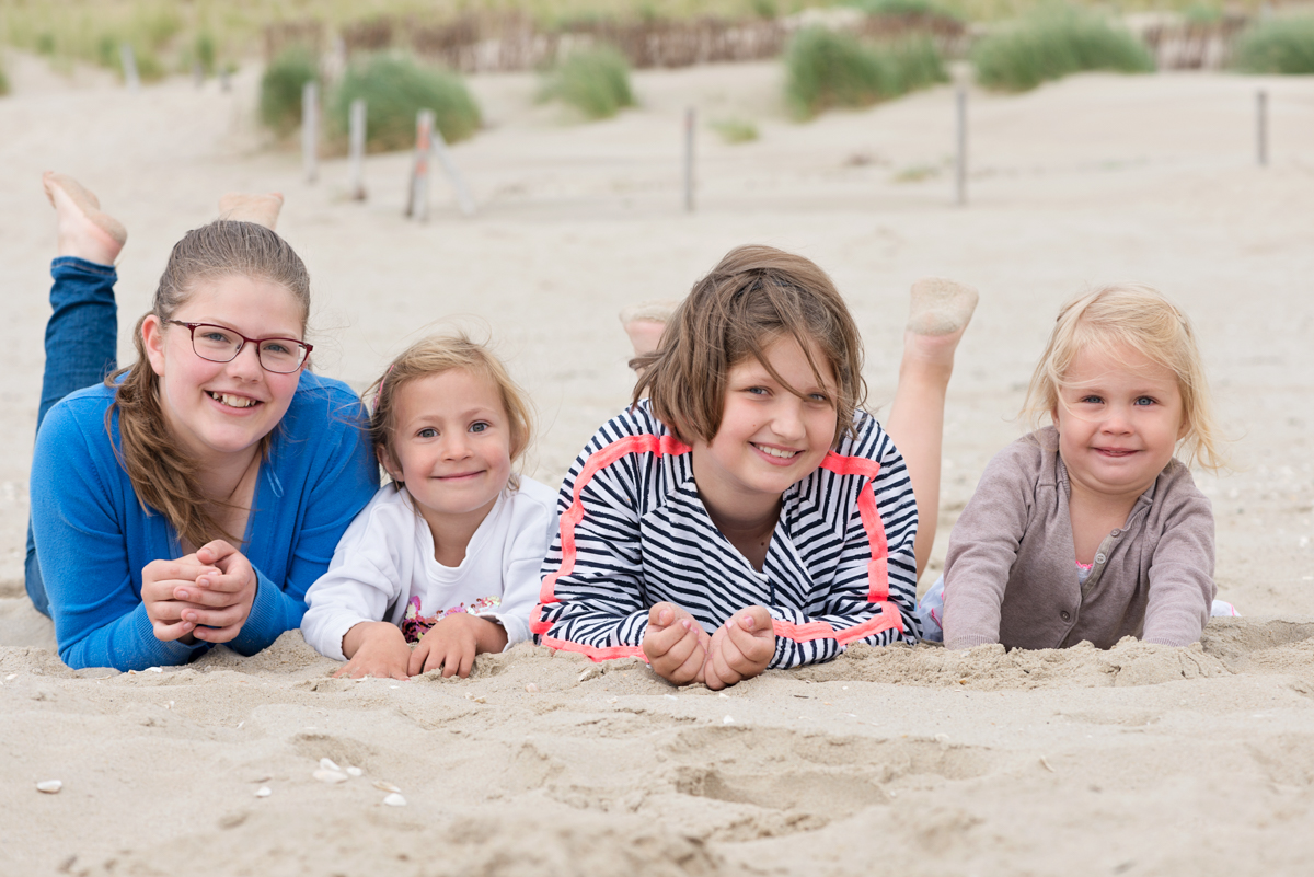 Familie strandshoot Petten Zee