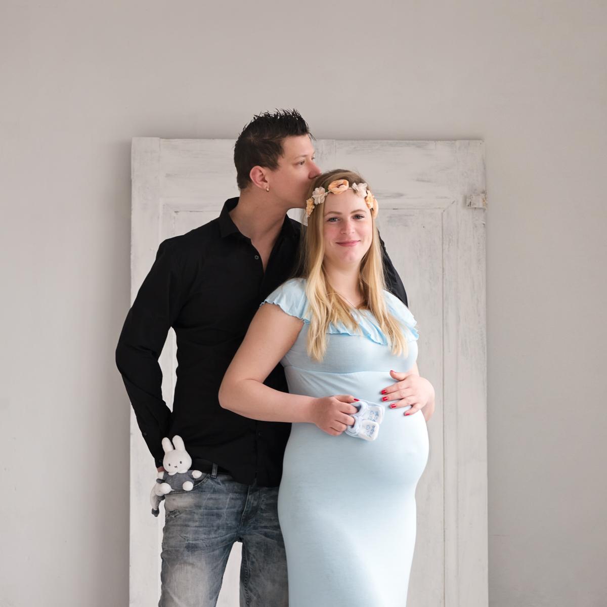 zwanger op de foto Zaanstad