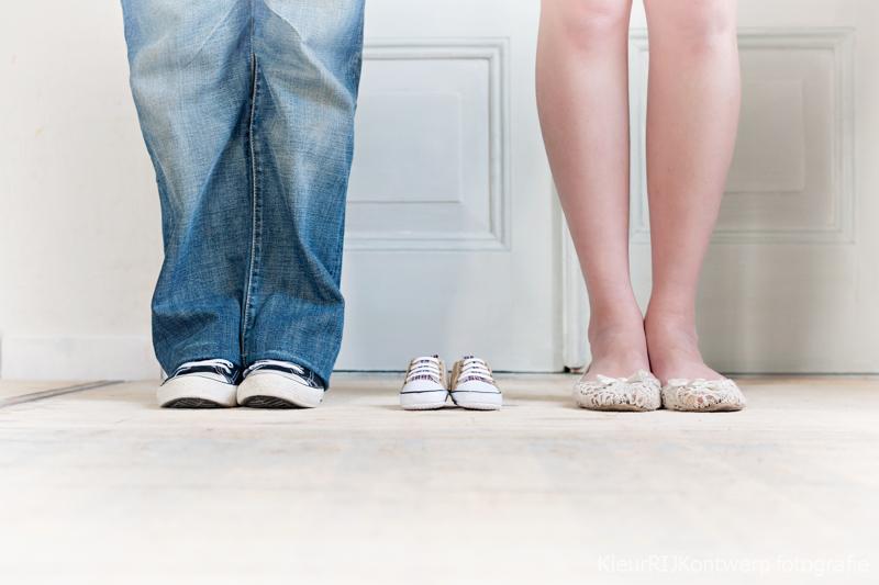 zwanger aankondiging ideeen baby schoentjes