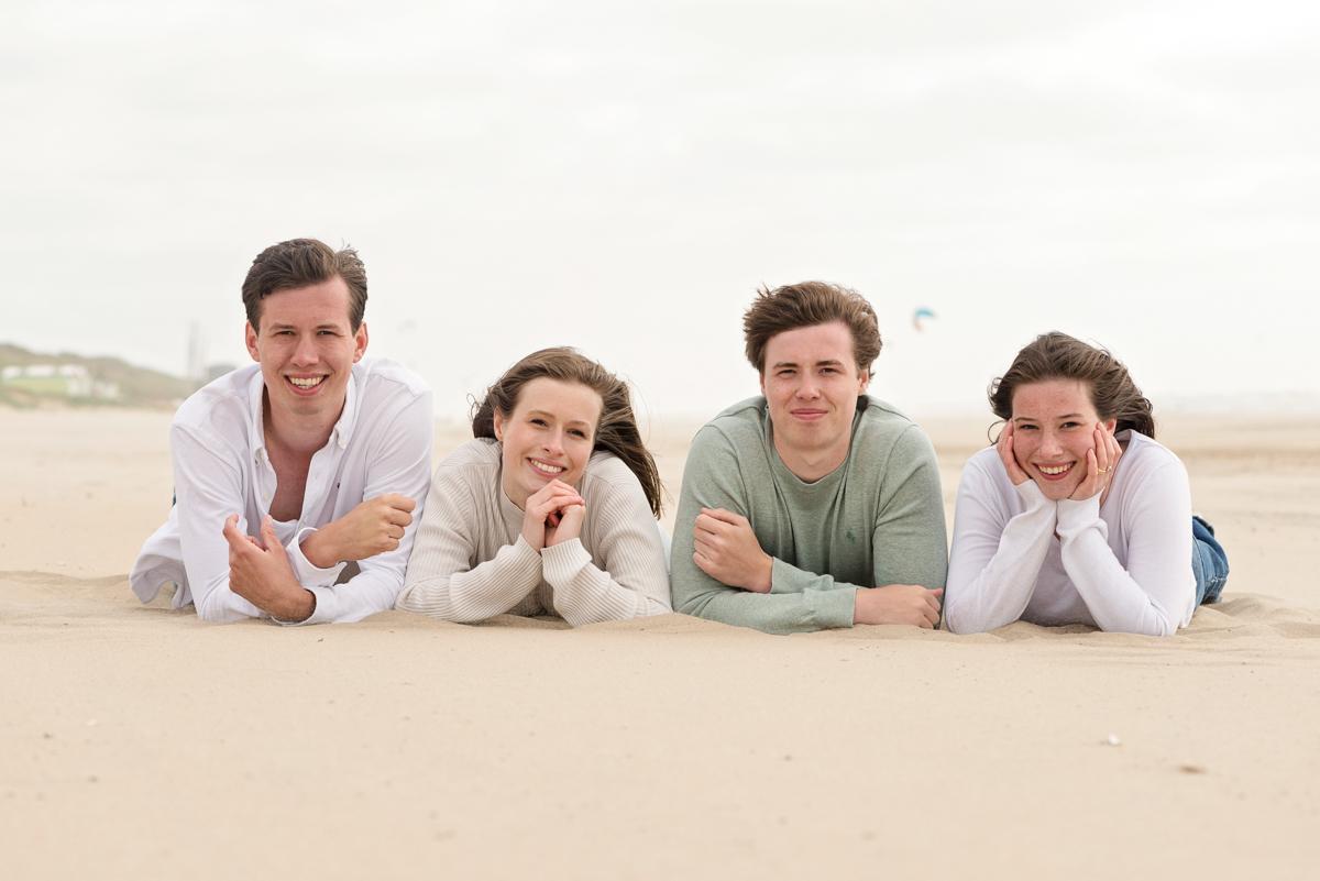 kleding familie fotoshoot groen