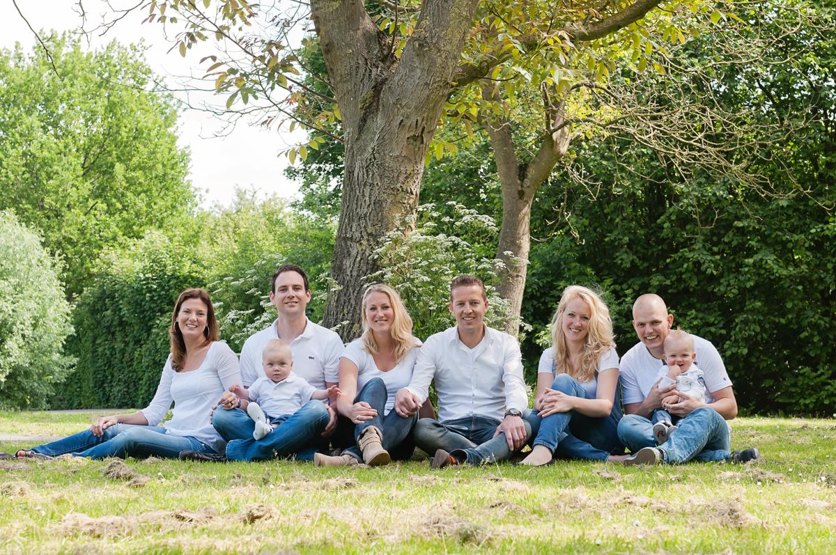 kleding familie fotoshoot