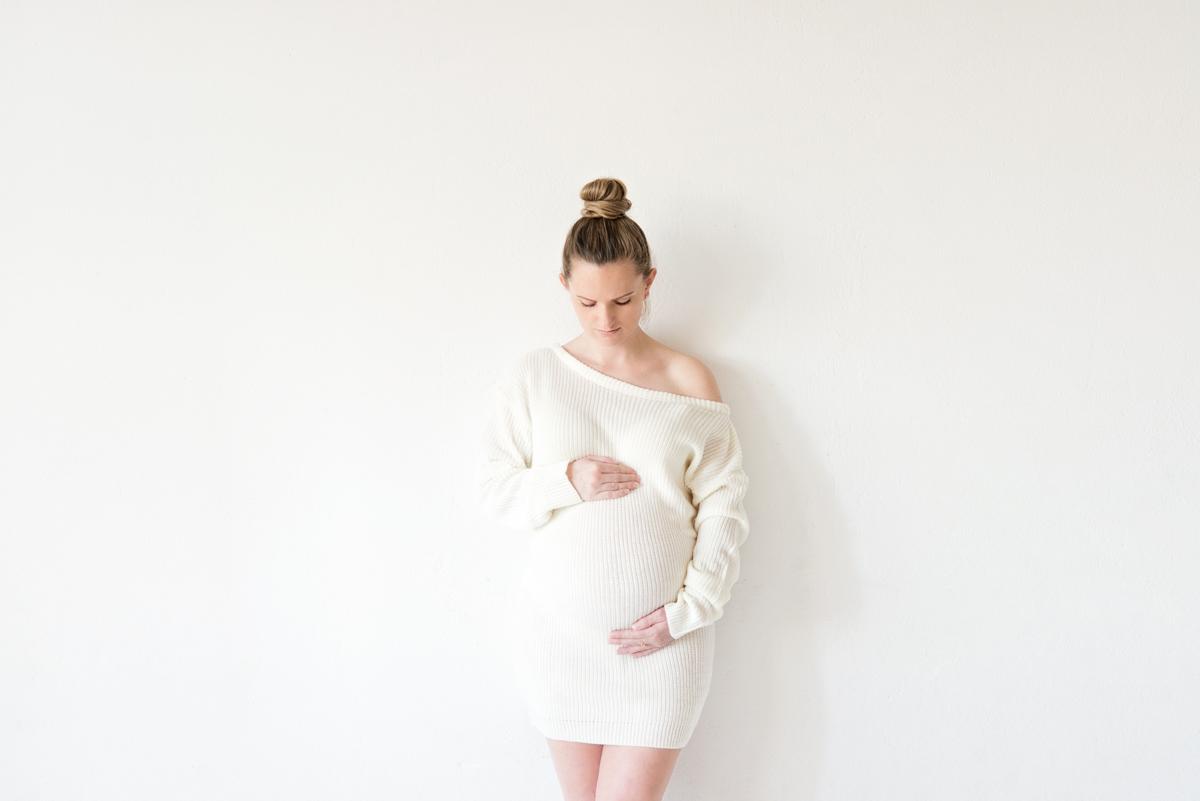 Wit Puur Zwangerschapsfotografie daglicht