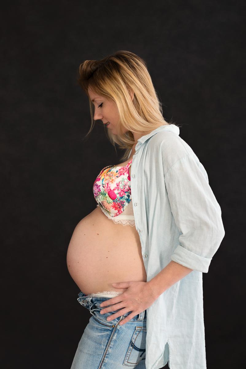 Zwanger Fotoshoot Haarlem 34 weken zwanger