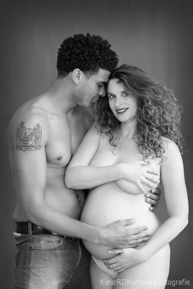 zwanger fotoshoot partner