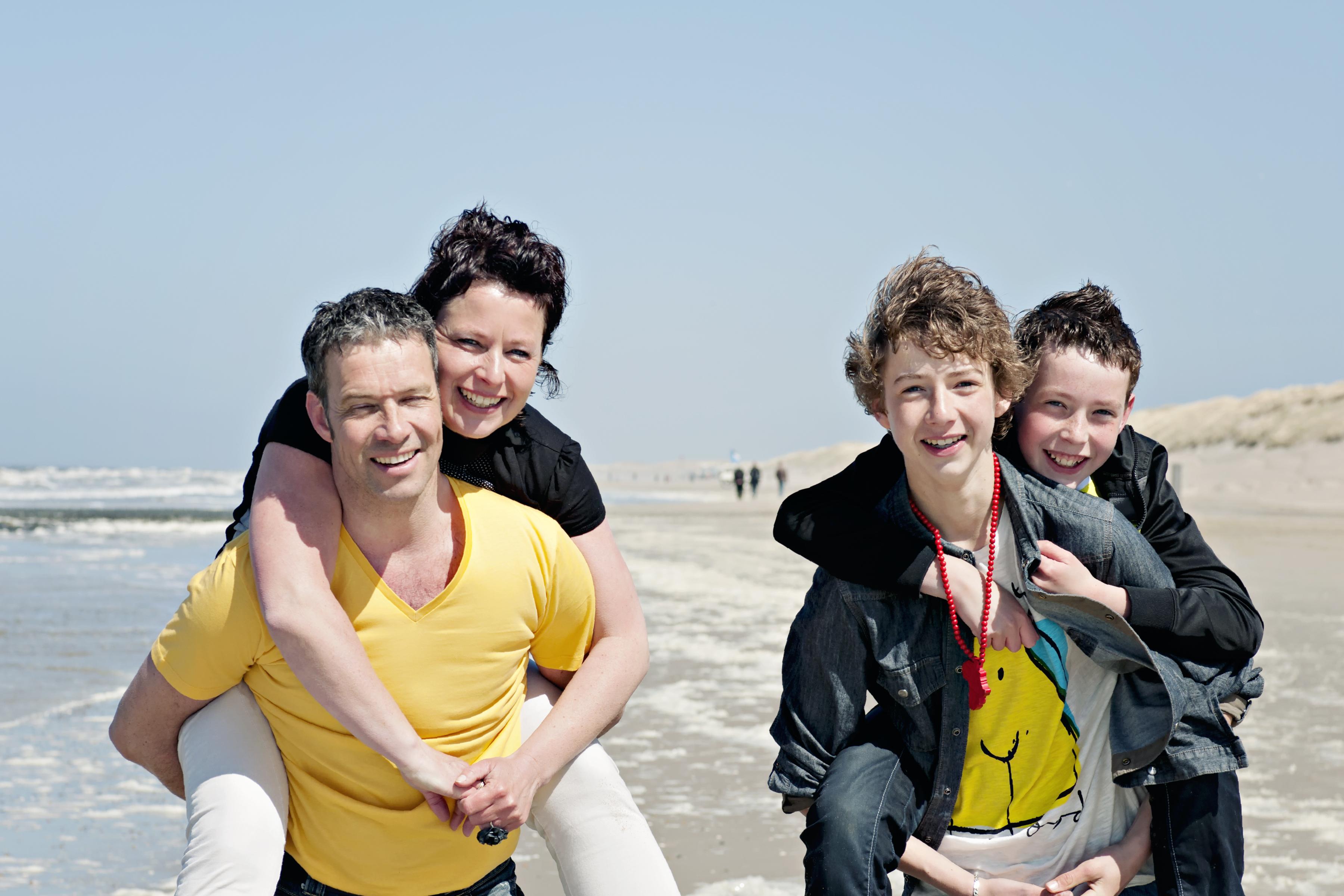 strandshoot gezin