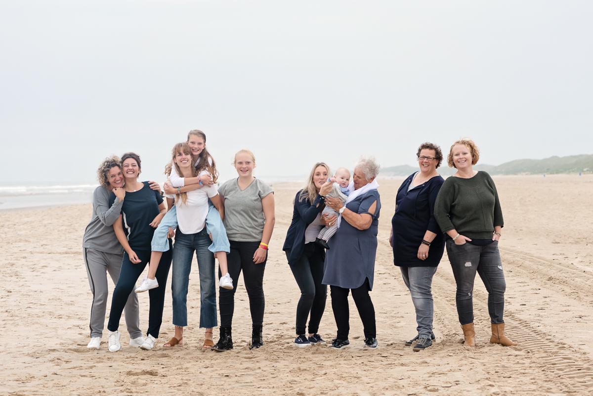 Familie Strandshoot Bergen aan Zee
