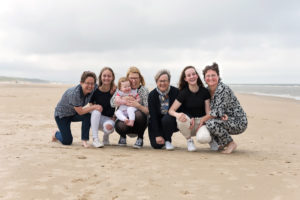 Familieshoot Fotoportret Strand Egmond aan Zee