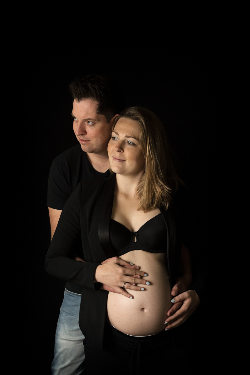 zwanger fotoshoot samen