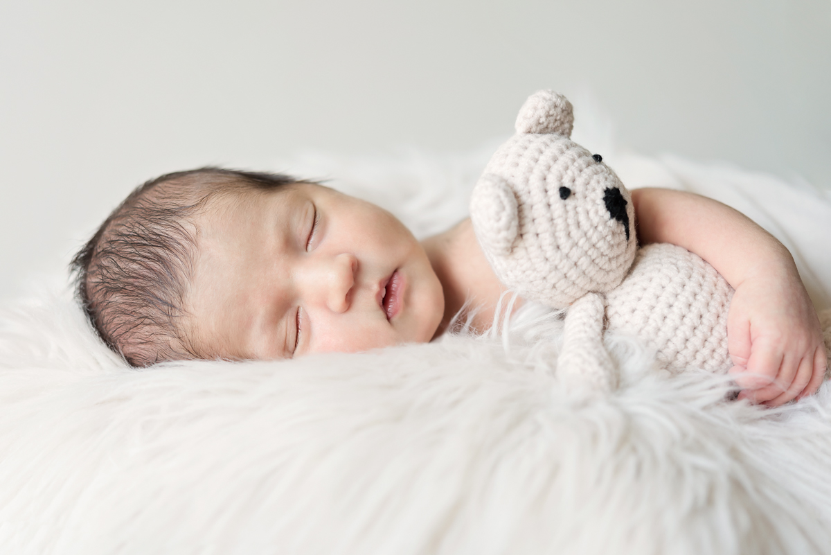 fotoshoot newborn geboortekaartje