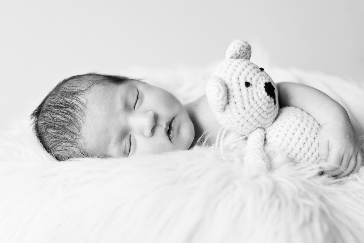 newborn geboortekaartje