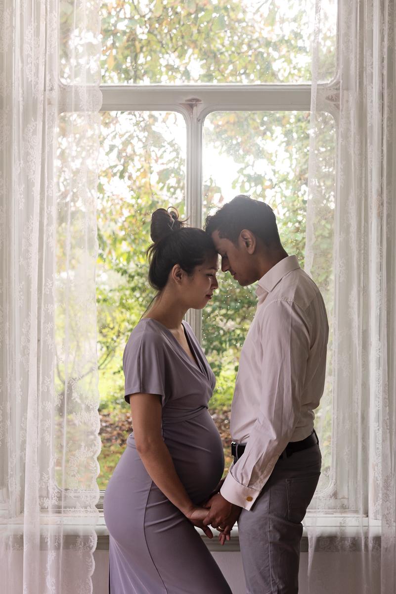 zwangerschap fotoshoot partner