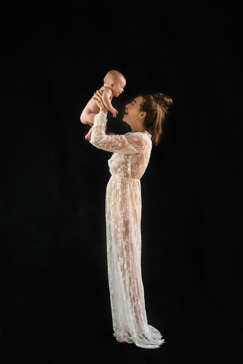 borstvoeding fotoshoot baby 4 maanden