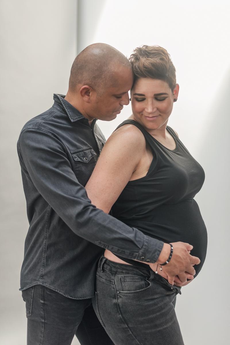 professionele zwangerschapsfotoshoot