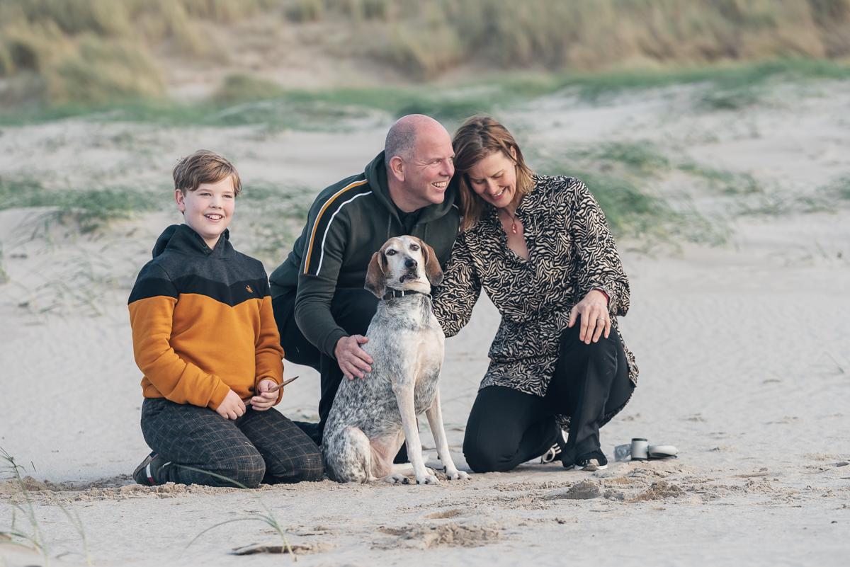 hond & gezin strandshoot (